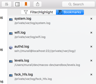 LogTail - Local and Remote log file viewer for Mac OS X